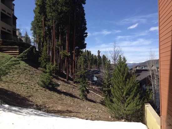 DoubleTree by Hilton Breckenridge: View from room # 512