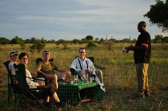 Sanctuary Saadani Safari Lodge: Sundowner