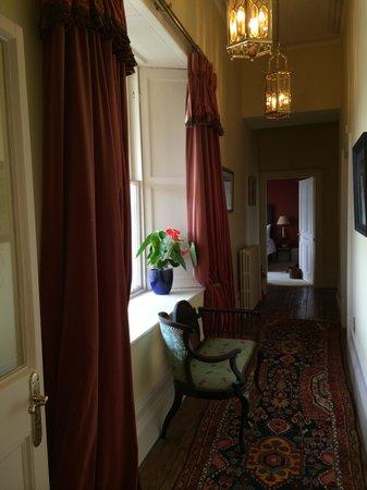 Moy House: hallway