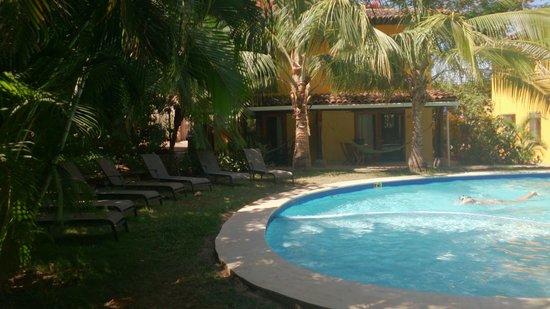 Villas Macondo: área de piscina