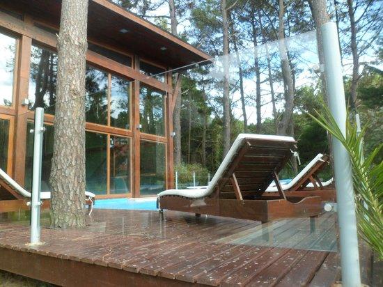 Rincon del Duende: piscina solarium