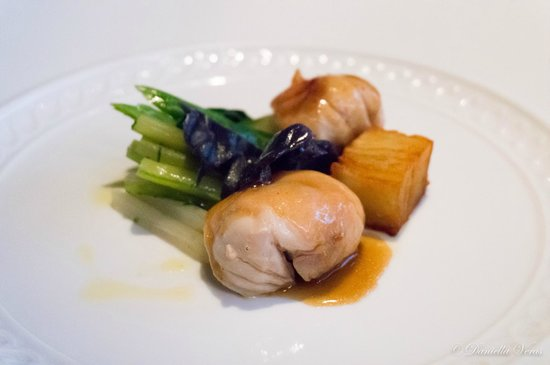Il Ridotto : Rabbit Bon-Bon with Potatoes Mille-Feuille and Artichokes