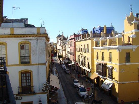 Hotel Puerta de Sevilla: Vista do quarto do hotel
