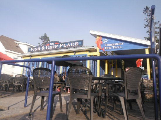 The Fish & Chip Place: Restaurant front