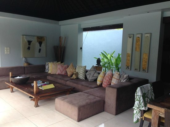 Kembali Villas: Lounge / chill out area