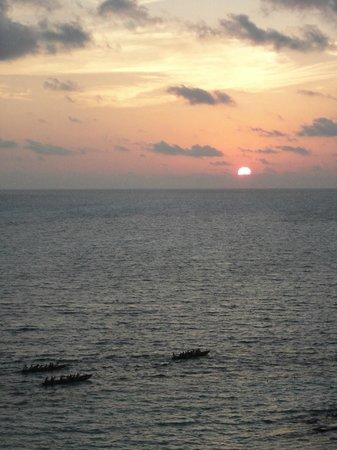 Hotel Riu Caribe : 5:45h - nascer do sol!