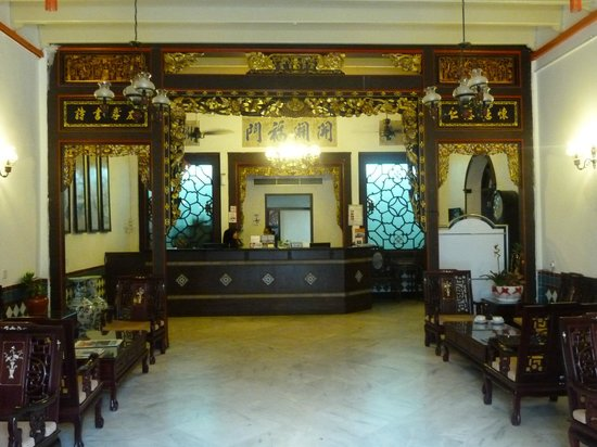 The Baba House: Peranakan lobby