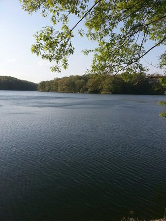 Clayton, IL: Lake at Siloam Springs State Park