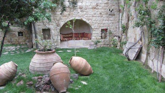 Selcuklu Evi: cour intérieure