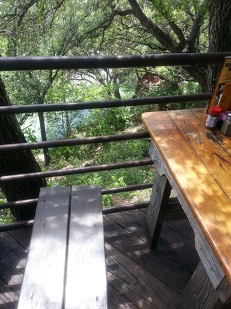 Gristmill : View from table