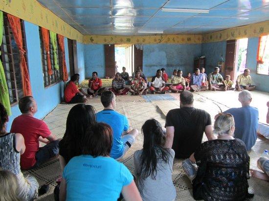 Sigatoka River Safari: Kava Welcome Ceremony