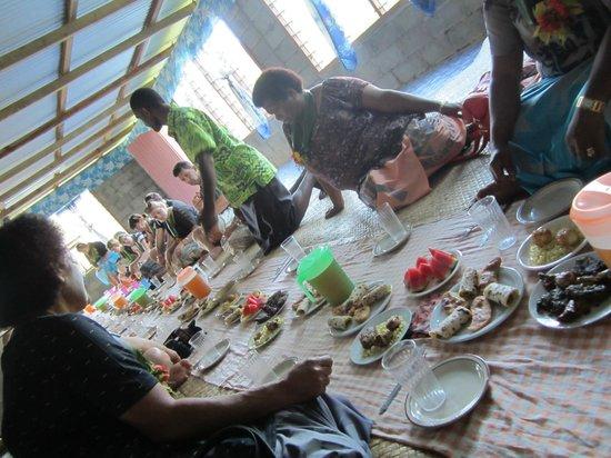 Sigatoka River Safari: Lunch