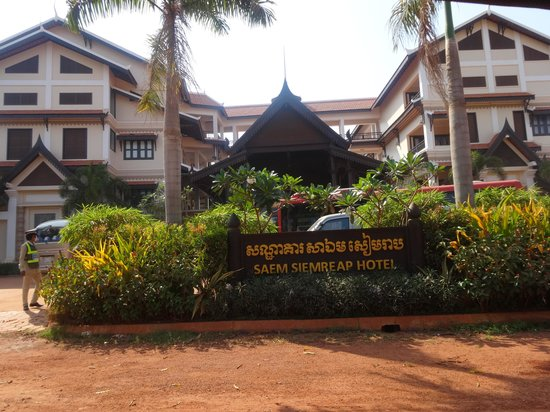 Saem Siemreap Hotel : the hotel