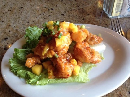 Patio Bar And Grill: Pineapple Thai Shrimp
