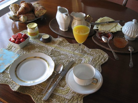 The Hermitage Bed & Breakfast: breakfast