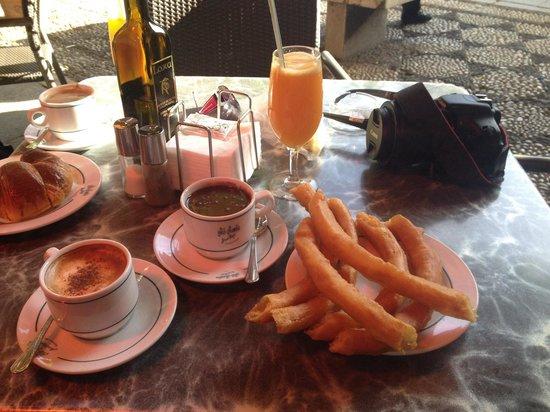 Gran Cafe at Bib Rambla: Good quality breakfast, although a little Exy!