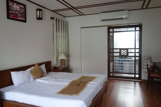 Hoi An Riverside Bamboo Resort : Garden view room