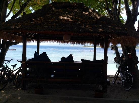 Manta Dive Gili Air Resort : Favourite lunch spot at Manta
