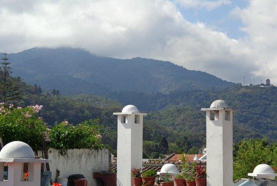 El Carmen Hotel: Vista desde la terraza del hotel