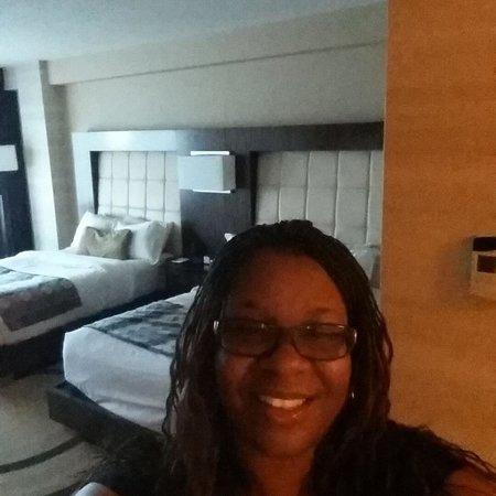 MotorCity Casino: Enjoying my free night stay!