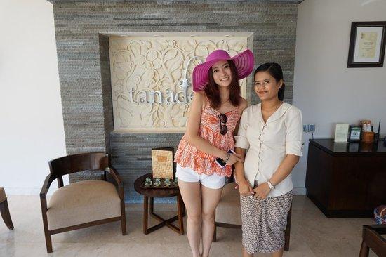 Tanadewa Luxury Villas & Spa: Photo with Ikka
