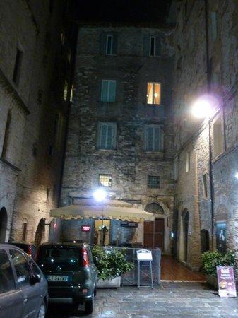 Mini Resort Fontana Maggiore: The apartment building
