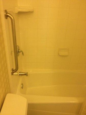 Hilton Richmond Downtown: bathroom shower in room 711