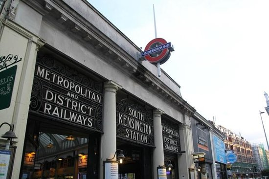 The Ampersand Hotel: Your local Tube station.