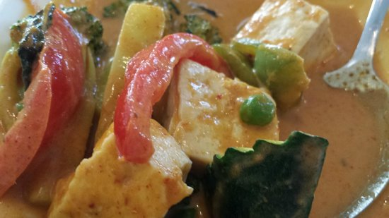 Amarin Thai Cuisine: Red Penang curry
