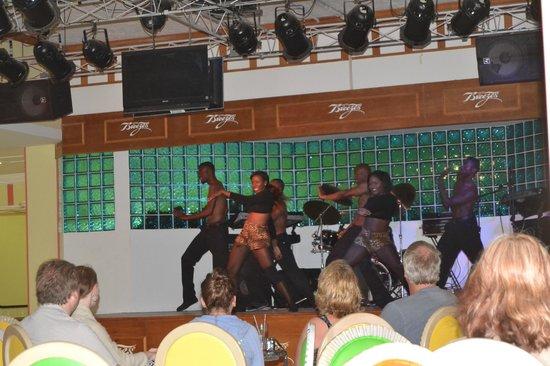 Breezes Resort & Spa Bahamas: Nightly Fun!