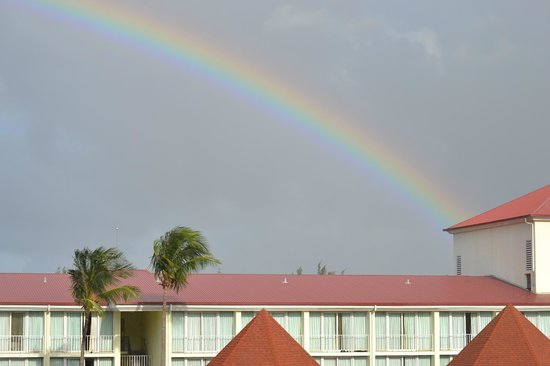 Breezes Resort & Spa Bahamas: Lucky Rainbow from our room