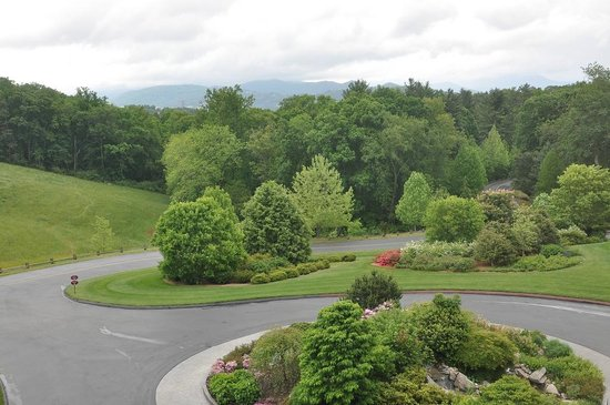 The Inn on Biltmore Estate: The view from our room