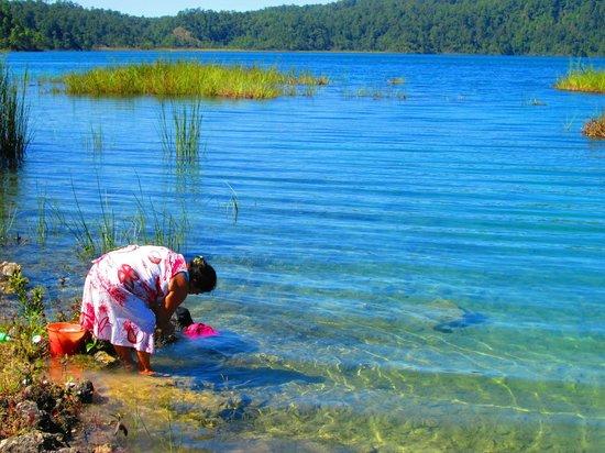 Lagos de Montebello : Lago Tziscao