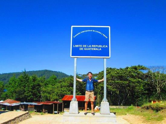 Lagos de Montebello : Frontera de Guatemala