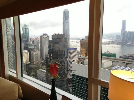 Conrad Hong Kong: Harbour view