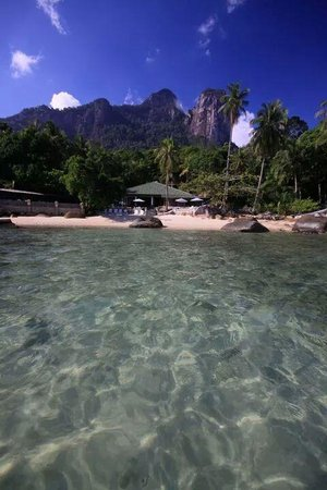 Minang Cove Resort: crystal clear water
