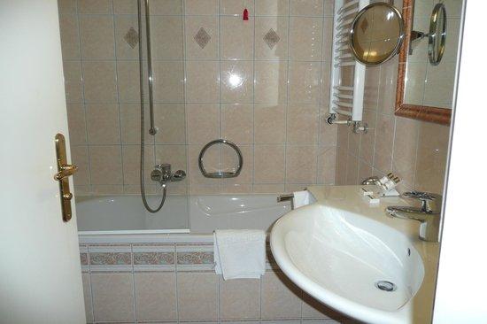 Park Hotel Bled: Nice clean bathroom