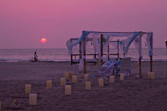 Karmairi Hotel Spa: Cenas Románticas
