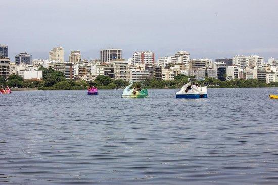 Rodrigo de Freitas Lake: Pedalinho na Lagoa