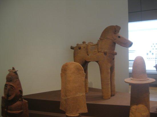 Tokyo National Museum The Heiseikan: Kofun era Horse sculpture