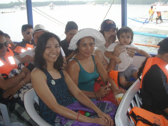 Dos Palmas Island Resort & Spa: on our way to the resort.