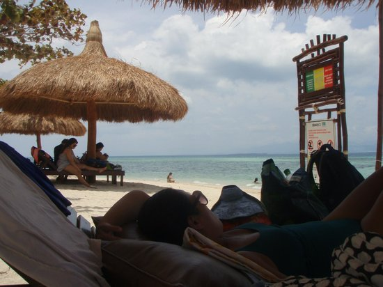 Dos Palmas Island Resort & Spa: siesta time after lunch