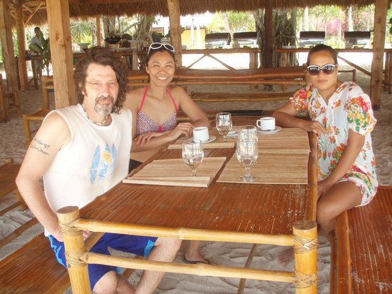 Dos Palmas Island Resort & Spa: after our lunch by the sea