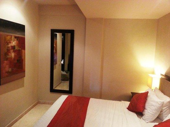 Park Hotel Nusa Dua: kamar tidak luas
