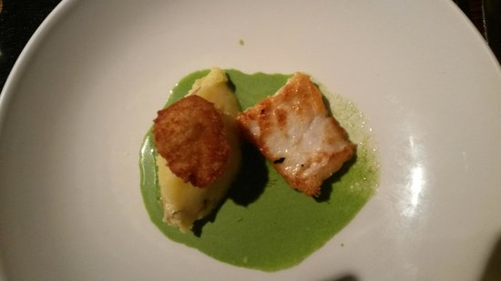 No 9 Church St: Salted Ling, Crispy Cod Cheek & Parsley Sauce