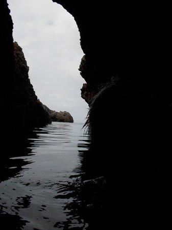 Argentario: grotta del turco