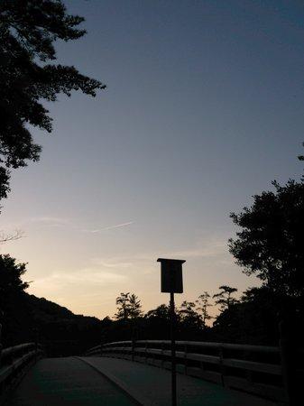 Yadoya Isuzu: 宿から徒歩8分の伊勢神宮内宮