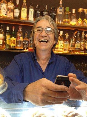 La Formiga Picona: Xavier the owner.