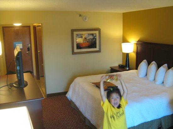 Hampton Inn Newport News-Yorktown: Big enough to stretch in!