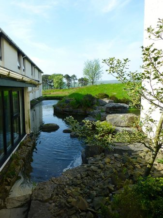 Tebay Services Hotel : View from the bar